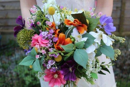 Avril Spring Artificial Flower Bouquet
