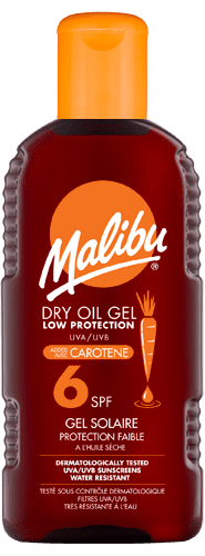 Dry Oil Gel SPF6 with Carotene
