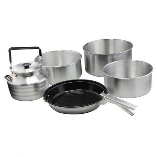 Aluminium Cook Set - 6 Piece