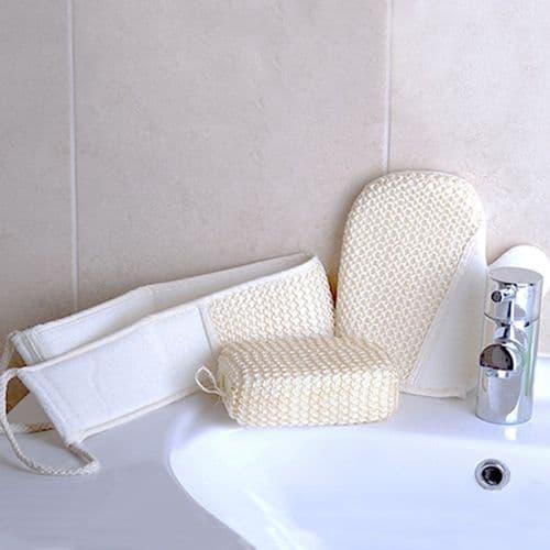 Bath Loofah Set