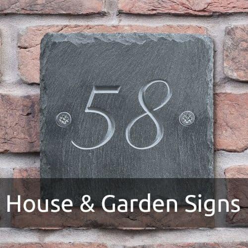 House & Garden Signs