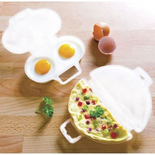 Microwave Egg Poacher and Omelette Maker