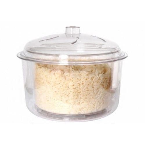 Microwave Rice and Vegetable Steamer