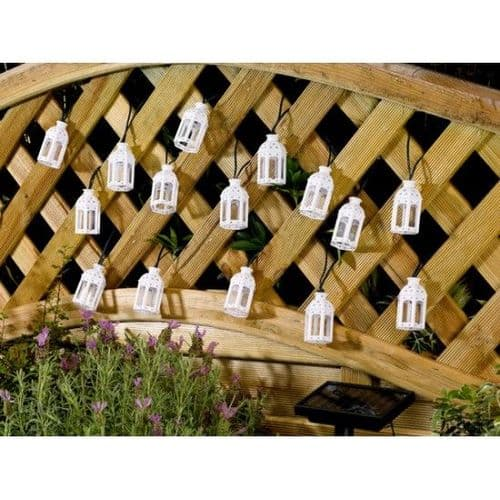 Moroccan Lantern Solar String Lights