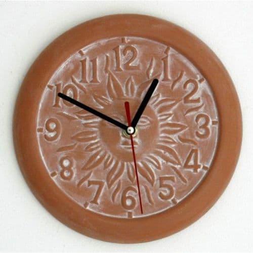 Outdoor Terracotta Clock