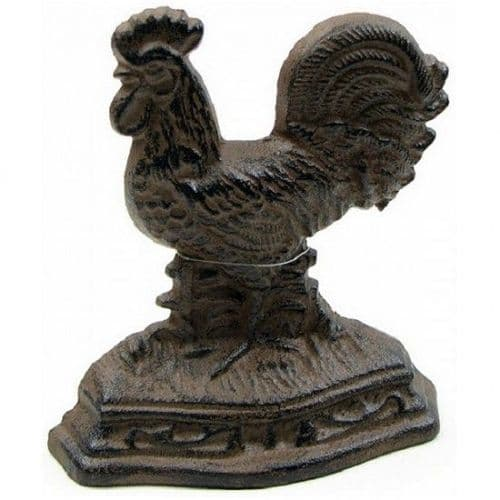 Rooster Doorstop