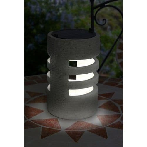 Solar Sandstone Table Light