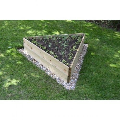 Triangle Timber Raised Bed from only £15.95
