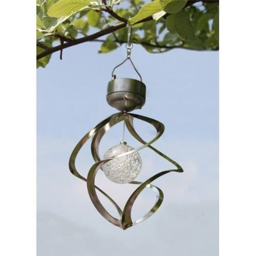 Wind Spinner Solar Light