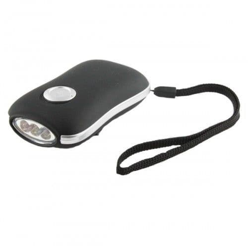 Wind Up 3 LED Torch