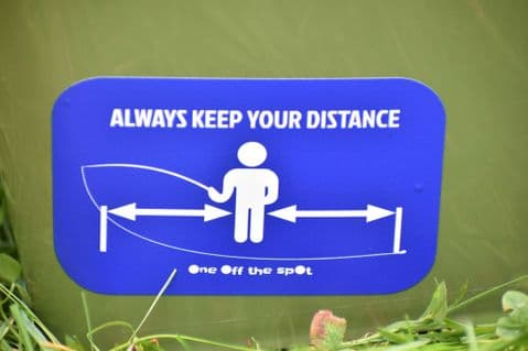 Always Keep Your Distance Sticker
