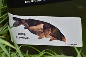 King Fungus Sticker