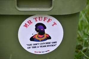 Mr Tuff T Sticker