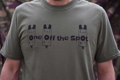 One Off The Spot Logo T-shirt (Olive Green)