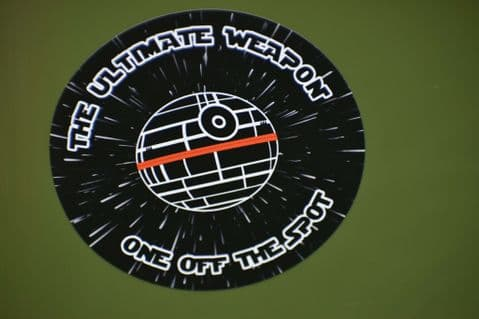The Ultimate Weapon Sticker