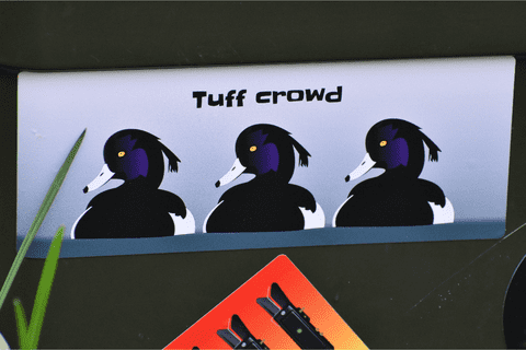 Tuff Crowd Sticker