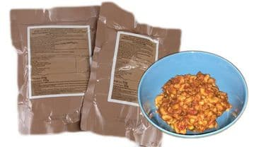 100 Chicken and Pasta rations sachets (£0.50 each)