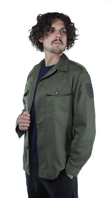 Austrian Army Heavyweight Olive Green Shirt (Pack of 100)
