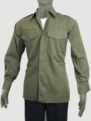 Austrian Army Lightweight Olive Green Shirts (Pack of 10)