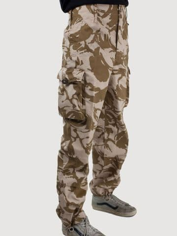 British Windproof Desert Camo Trousers (Pack of 10)
