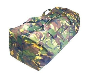 Dutch Army Large Camouflage Holdall (Pack of 10)
