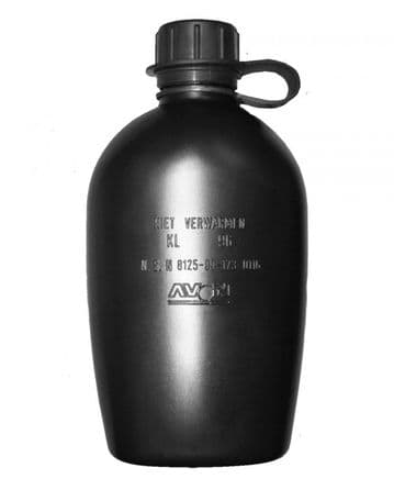 Dutch Large Water Bottle - Black - New (Pack of 10)