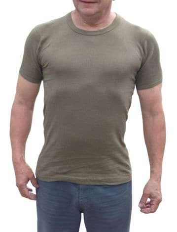Dutch Olive Green T-Shirt - New (Pack of 10)