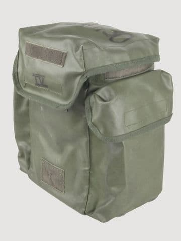 French Army Olive Green Gas Mask Bag (Pack of 10)