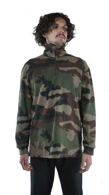 French CCE Camo Fleece Pullover (Pack of 10 or 40)
