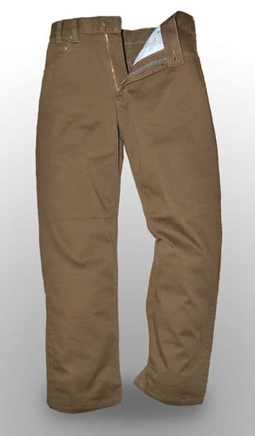 German Police Khaki Jeans (Pack of 10)