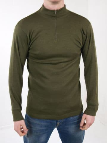 Italian Green Base Layer Thermal Shirt (Pack of 10)