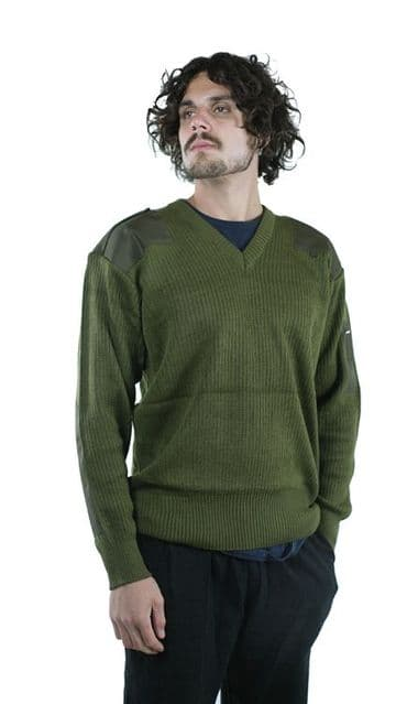 Italian Olive Commando Jumper/Pullover (Pack of 10)