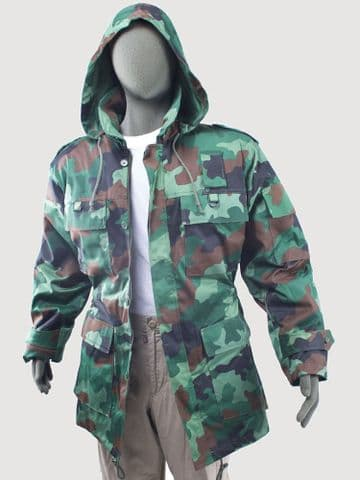 Serbian Camo Parka (Pack of 5)