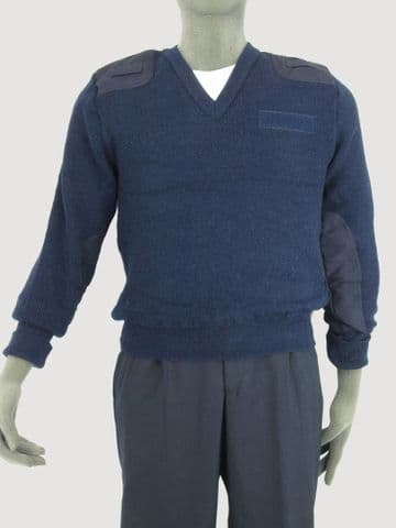 UK Police Blue and Black Wool Jumpers (Pack of 10)