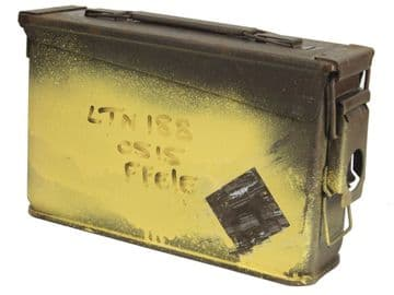 "UK Specification 7.62mm ""Small 30 Cal"" Ammo Box in Serviceable condition (Pack of 6)"