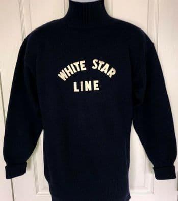 'TITANIC' 1997 White Star Line Crewman's Sweater