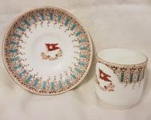 1st Class Demitasse (Coffee) Cup & Saucer #2