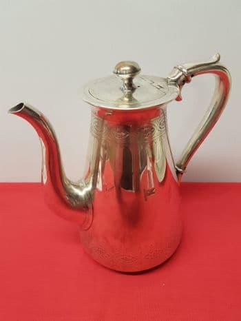 1st class silver coffee pot