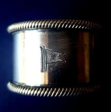 1st Class Silver Napkin Ring