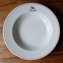 Charente Steamship Co. Soup Plate