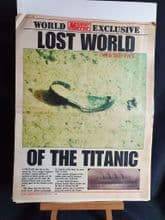 Daily Mirror supplement, Lost world of the TITANIC !