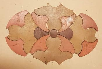 Genuine/Original 1902 SS Corinthic Floor Tiles