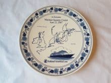 Mariner Society Cruise Commemorative Plate