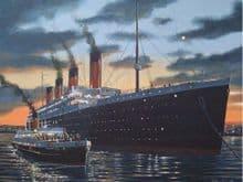 Nomadic and Titanic 3D Fridge Magnet