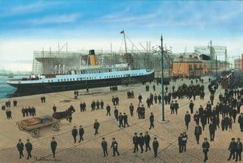 Nomadic & Titanic - Ready for Launch at Harland & Wolff, Belfast - Limited Edition