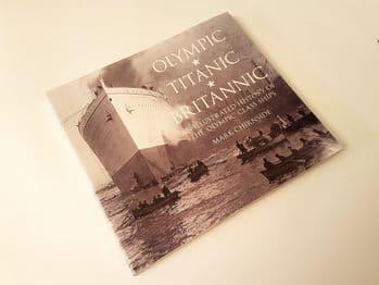 Olympic, Titanic and Britannic