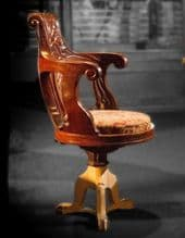 Original 1911 RMS Olympic 2nd Class Dining Chair