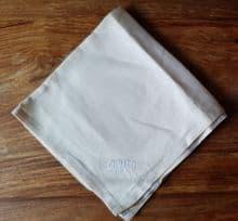 Original QE2 Linen, Embroidered Napkin