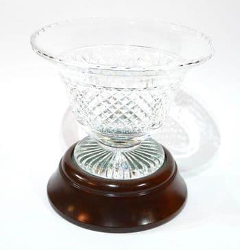 Rare Stuart Crystal RMS Titanic/Olympic 'Captain's Bowl'