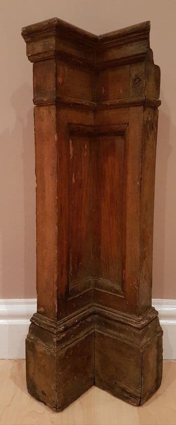 RMS Olympic 1st class suite B62 wood corner panel